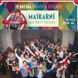 Diskohaus Trhový Štěpánov - Maškarní 19.3.16 (DjPILLI, DJ Johny, Deejay*f)