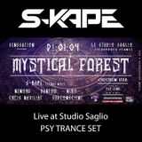 S-Kape - Live At Studio Saglio (Mystical Forest ॐ Chichén Itzá ॐ 01-04-18)