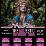 MA FAIZA MAjestic BIRTHDAY TOUR 2014 - Get your panties in a twist mix