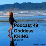 Plant based whole food eating and keyboard improv Goddess KRING podcast 49