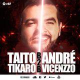 MATINÉE CLOSING PARTY AMNESIA IBIZA TAITO TIKARO VS ANDRÉ VICENZZO 19-'09-2015