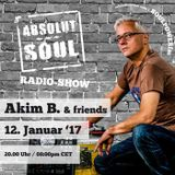 Absolut Soul Show /// 12.01.17 on SOULPOWERfm
