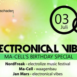 Ma-Cell - DJ Set at electronical vibes - Wasserschaden, Hamburg - 03.07.2015