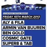 Super8 & Tab - Live @ A State of Trance 600 Kuala Lumpur (15.03.2013)