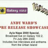 Andy Ward, Ayia Napa Special on Galaxy 102.2