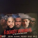 THE DEADLY VENOMS ALL TIME CHICAGO LEGENDS 2015 HOT NEW