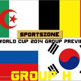 Sportszone's World Cup 2014 Preview: Group H