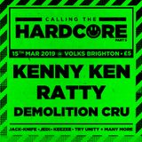 Louise + 1 and DJ Hughesee LIVE at Calling The Hardcore #005 - 15/03/2019 ('91-92 Vinyl Set)