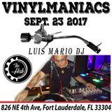 "Luis Mario DJ "" Vinyl Maniacs""  @ The Hub - Florida September 23, 2017"