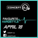 Concept - Favourite Hardstyle April 18 (26-04-2018)