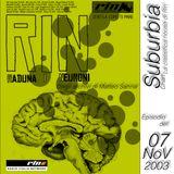 SUBURBIA CHART Edizione del 07 Novembre 2003 - RIN RADIO ITALIA NETWORK