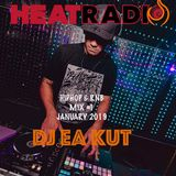 HIPHOP & RNB MIX #1 - DJ EA KUT Live on HEAT RADIO (January 2019)