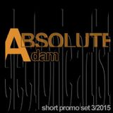 Roland S. Adam - ABSOLUTE Adam Promo Set 3/2015