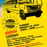 Luciano Live DJ Set from The Sunday School Pool Party in Miami