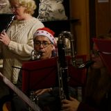 Peninsula Clarinet Choir Xmas Busking 2012