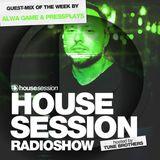 Housesession Radioshow #1085 feat Alwa Game & PressPlays (28.09.2018)