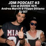 JDM Podcast #3 - Live @ Duende 16/4 (with Filippo Dittamo)