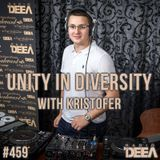 Kristofer - Unity in Diversity 459 (live) @ Radio DEEA (28-10-2017)