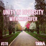 Kristofer - Unity in Diversity 378 @ Radio DEEA (09-04-2016)