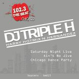 DJ Triple H on WCKG's 102.3 The Beat Saturday Night Live Ain No Jive Chicago Dance Party 12/23/2017