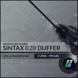 BassPort FM - Neurofonic Sound Special: SINTAX b2b DUFFER!