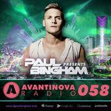 #58 PAUL BINGHAM - AVANTINOVA RADIO
