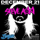 Steve Aoki - Live at Belly Up Aspen – 31.12.2013