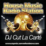 DJ Cut La Carté on House Music Radio Station Live-Session May 2013