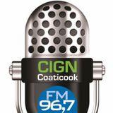 DJ Franky Jay on CIGN 96.7 fm radio 28/01/2014