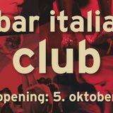 Bar Italia Opening Weekend - Saturday Warmup