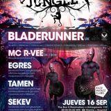 BLADERUNNER (Dread Recs, UK) & MC R-VEE. Live @ Jungle Jungle, Razzmatzz, Barcelona