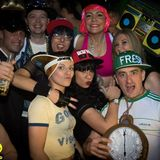 Not the new year party some time in January me and friends mixing allsorts