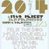 Greg Eversoul Live NYE San Francisco 2014