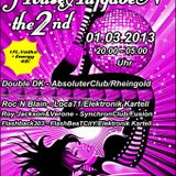 Turntable Reloaded - The FRESH ClubNight - Session 136 - HOUSEAUFGABEN 2ND Special vom 2.3.2013