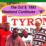 The early October weekend continues: Saturday 09 October 1993 at The Generator