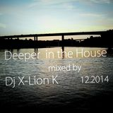 Deeper in the House mixed by Dj X-Lion_K 12.2014