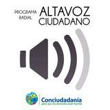 Altavoz Ciudadano: Audiencia ciudadana por la reconciliación