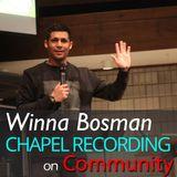 Winna Bosman on Community 2/28/17
