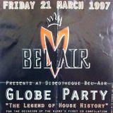 "Yves De Ruyter at ""Globe Party"" @ Bel-Air (Wommelgem - Belgium) - 21 March 1997"