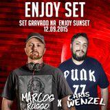 Marcos Russo vs Chris Wenzel @ ENJOY Sunset (Live set)