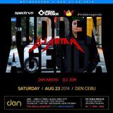DJ Aryan -  Hidden Agenda (Live at Den Cebu)