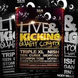 DJ TripleXL, Eruption, Millo, TMC & Clarkie @ Live & Kicking, Funktion (rave cave arena) Hull 5-2-16