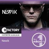2016.06.23. DJ Factory Radio Show on 96.4 Radio 1 by newik 23.00