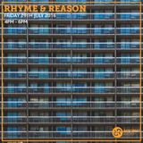 Rhyme & Reason 29th July 2016