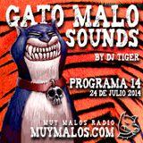 GATO MALO Sounds. Show 14. 31-07-2014. muymalos.com
