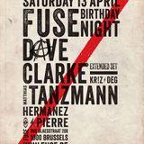 Dave Clarke - Live @ Fuse 19 Years (Brussel,Belgium) (13-04-2013)
