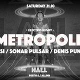 Sonar Pulsar @ Metropolis 2017.10.21 03-04 AM @ HALL