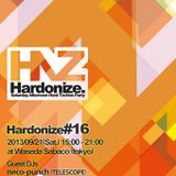 Play at Hardonize #16 (2013.9.21)