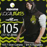 Maxima Local Beats by Ray Castellano 105 (17-12-2016)