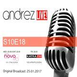 Andrez LIVE! S10E18 (25.01.2017)